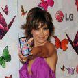 Lisa Rinna veut même prendre la place de Heidi Klum pour la pub du téléphone LG ! - Soirée LG Rumorous Night à Hollywood le 28 avril 2009