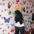 Christina Aguilera n'a jamais eu peur des talons aiguilles ! - Soirée LG Rumorous Night à Hollywood le 28 avril 2009