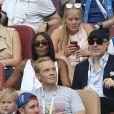 Naomi Campbell - People au stade Loujniki lors de la finale de la Coupe du Monde de Football 2018 à Moscou, opposant la France à la Croatie à Moscou le 15 juillet 2018 © Cyril Moreau/Bestimage