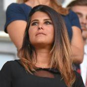Karine Ferri soutient Yoann Gourcuff pour sa 1ère sortie après l'accouchement