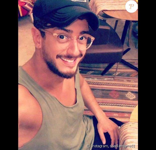 Saad Lamjarred en mode selfie sur Instagram la 25 août 2018