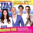 """Couverture du """"Télécâble Sat Hebdo""""."""