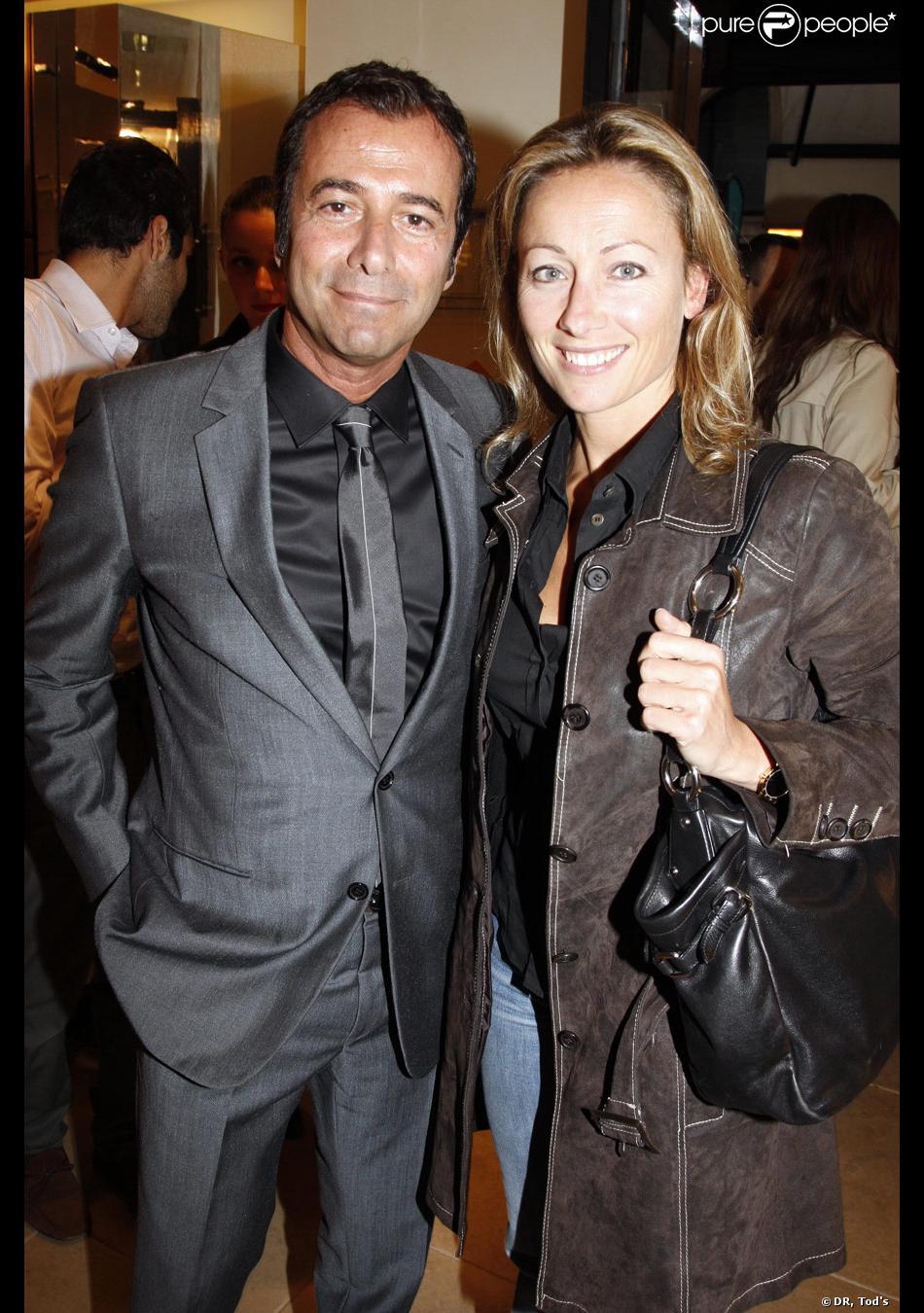 Anne sophie lapix et bernard montiel la soir e tod 39 s donn e le 28 avril 2009 rue du faubourg - Bernard montiel et sa compagne ...