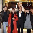 Chantal Lauby, Benoît Magimel, Victoria Abril, F-X Demaison, Nikita et Madame Demaison... une bien jolie brochette !