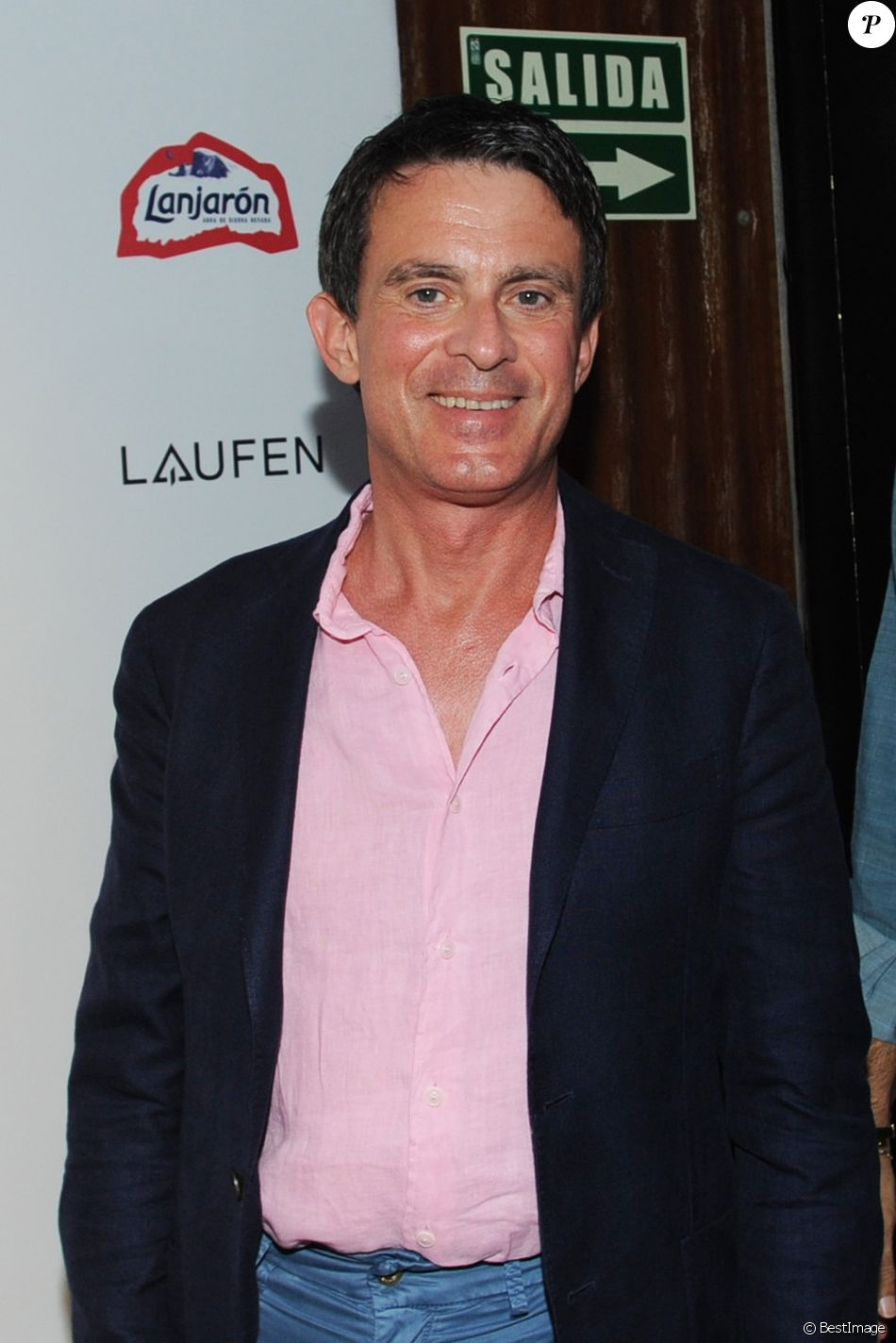 Manuel Valls au festival Starlite de Marbella, le 19 juillet 2018.