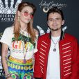 Paris Jackson et son frère Michael Joseph Jackson, Jr. à la soirée Michael Jackson Diamond Birthday Celebration au Mandalay Bay Resort and Casino à Las Vegas, le 29 août 2018