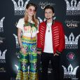 Paris Jackson et brother Michael Joseph Jackson, Jr. à la soirée Michael Jackson Diamond Birthday Celebration au Mandalay Bay Resort and Casino à Las Vegas, le 29 août 2018