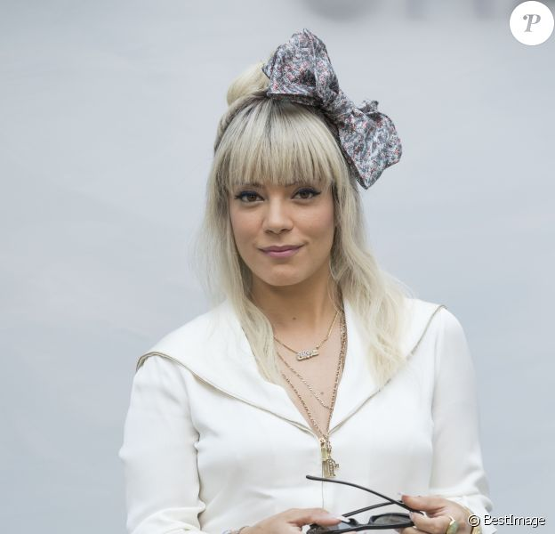 """Lily Allen - Photocall du défilé de mode """"Chanel"""", collection Haute-Couture automne-hiver 2018/2019, à Paris. Le 3 juillet 2018 © Olivier Borde / Bestimage"""