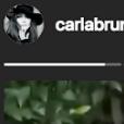 Giulia Sarkozy sur le chemin de l'école sur une vidéo publiée par Carla Bruni sur Instagram le jour de la rentrée des classes le 4 septembre 2018