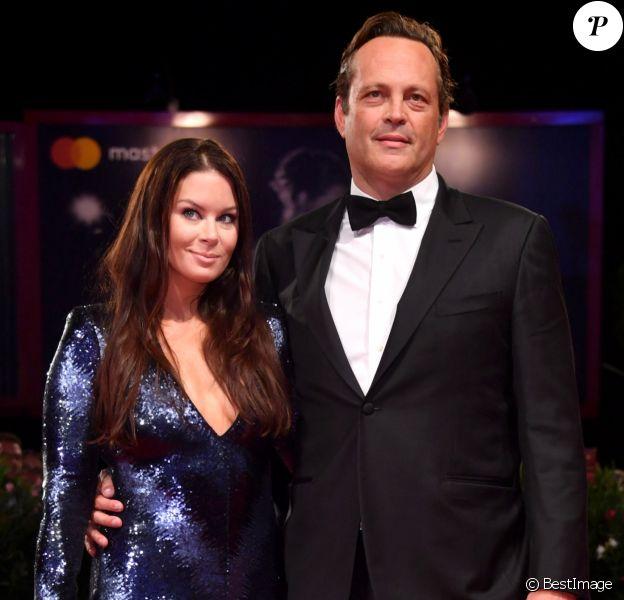 Vince Vaughn et sa femme Kyla Weber lors de la présentation du film Dragged Across Concrete lors de la 75ème édition du Festival du Film International de Venise, la Mostra, au palais du cinéma de Venise, le 3 septembre 2018.
