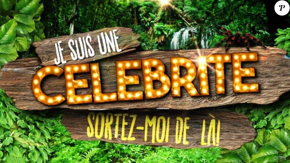 """Le logo de """"Je suis une célébrité, sortez-moi de là !"""" en 2016 sur TF1."""