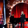 """Exclusif - Véronique Sanson - Emission """"La chanson de l'année fête la musique"""" dans les arènes de Nîmes, diffusée en direct sur TF1 le 17 juin 2017. © Bruno Bebert/Bestimage"""