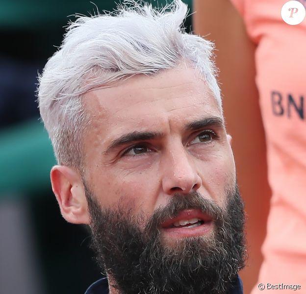 Benoît Paire lors des internationaux de Roland Garros - jour 4 - à Paris, France, le 30 mai 2018. © Cyril Moreau - Dominique Jacovides/Bestimage