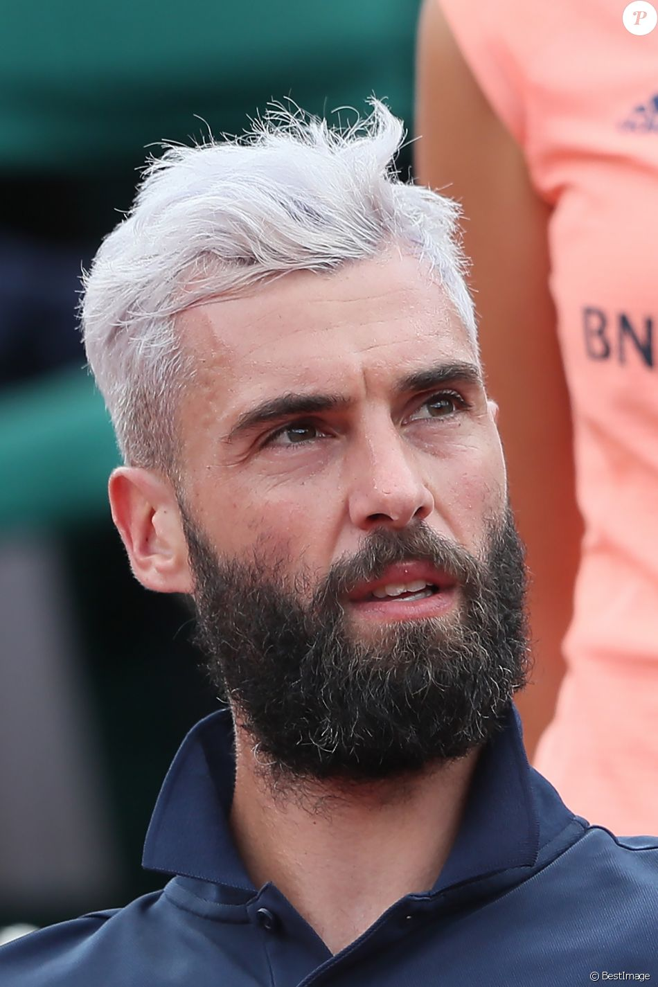 Benoît Paire lors des internationaux de Roland Garros - jour 4 - à Paris, France, le 30 mai 2018. © Cyril Moreau - Dominique Jacovides/Bestimage