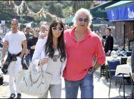 Flavio Briatore : pause tendresse avec Elisabetta Gregoraci, sa somptueuse épouse dont il est très épris !