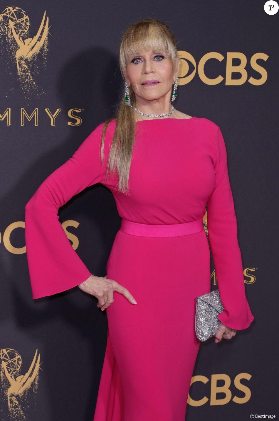 Jane Fonda - 69ème cérémonie des Emmy Awards au Théâtre Microsoft à Los Angeles. Le 17 septembre 2017. 2017.17/09/2018 - Los Angeles