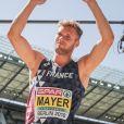 Kevin Mayer lors des championnats d'Europe à Berlin le 7 août 2018.