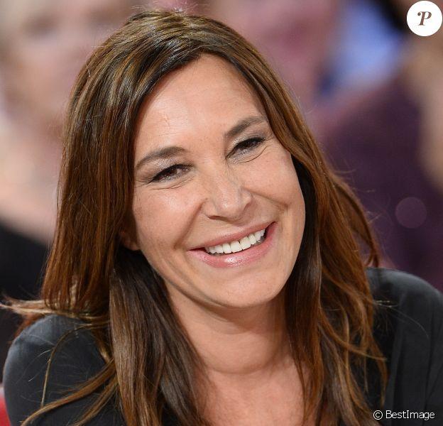 """Zazie - Enregistrement de l'émission """"Vivement Dimanche"""" à Paris le 25 Novembre 2015."""