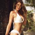 Iris Mittenaere en bikini à Marrakech, un cliché dévoilé le 1er août 2018.