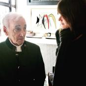 """Charles Aznavour par Carla Bruni : """"Il n'a pas connu l'ennui, la vieillesse..."""""""