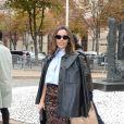 """Elodie Bouchez au défilé de mode printemps-été 2019 """"Miu Miu"""" à Paris. Le 2 octobre 2018 © CVS / Veeren / Bestimage"""