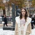 """Stacy Martin au défilé de mode printemps-été 2019 """"Miu Miu"""" à Paris. Le 2 octobre 2018 © CVS / Veeren / Bestimage"""