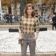 """Kate Mara au défilé de mode printemps-été 2019 """"Miu Miu"""" à Paris. Le 2 octobre 2018 © CVS / Veeren / Bestimage"""