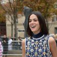 """La petite amie de Neymar Jr., Bruna Marquezine au défilé de mode printemps-été 2019 """"Miu Miu"""" à Paris. Le 2 octobre 2018 © CVS / Veeren / Bestimage"""