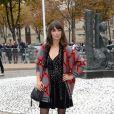 """Bérénice Béjo au défilé de mode printemps-été 2019 """"Miu Miu"""" à Paris. Le 2 octobre 2018 © CVS / Veeren / Bestimage"""