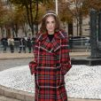 """Morgane Polanski au défilé de mode printemps-été 2019 """"Miu Miu"""" à Paris. Le 2 octobre 2018 © CVS / Veeren / Bestimage"""