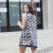 Fashion Week : Bérénice Bejo, souriante avec la petite amie de Neymar