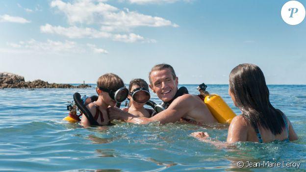 Lambert Wilson en Cousteau dans L'Odyssée, 2016.
