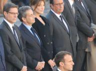 Hommage à Charles Aznavour : François Hollande, Carla et Nicolas Sarkozy réunis