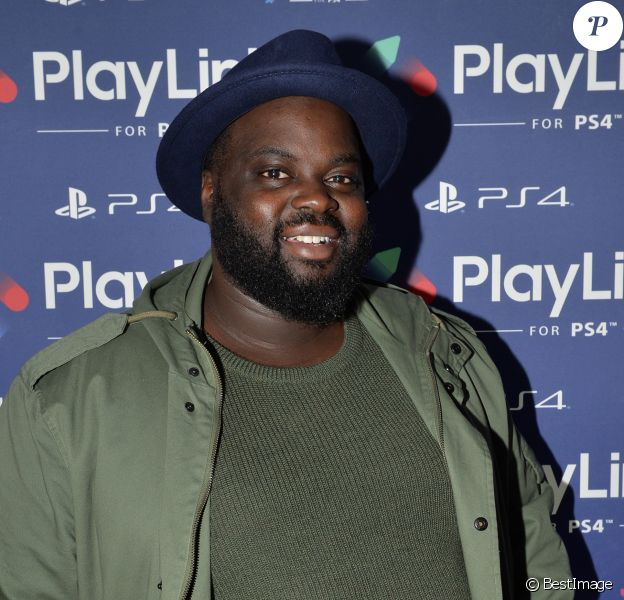 Issa Doumbia - Soirée de lancement de PlayLink de PlayStation au Play Link House à Paris, France, le 12 octobre 2017. © Veeren/Bestimage