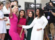 Michelle Obama : Bain de foule avec la future belle-soeur d'Ivanka Trump