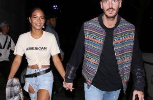 M. Pokora et Christina Milian : Amoureux assortis en jeans troués pour Drake