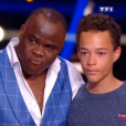 Basile Boli et son neuveu Thomas - Danse avec les stars 9 diffusé le 13 octobre 2018 - TF1