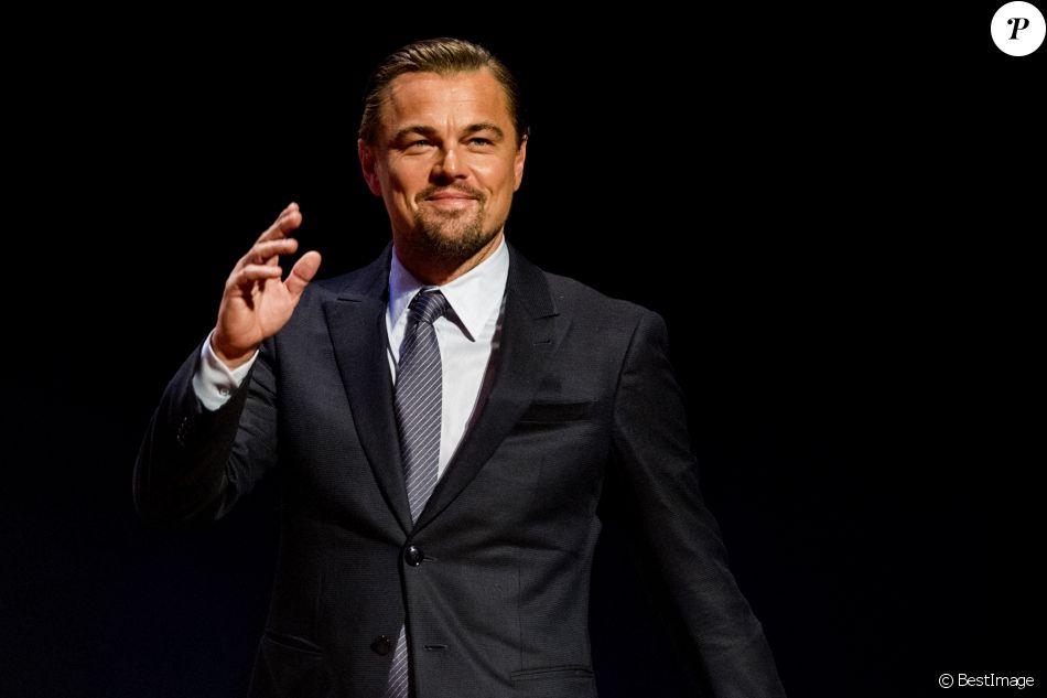 Leonardo DiCaprio lors du Goed Geld Gala à Amsterdam. Le 15 février 2018