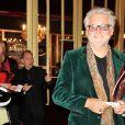"""Gilbert Rozon - Générale du spectacle """"Mistinguett, reine des années folles"""" au Casino de Paris, le 25 septembre 2014."""