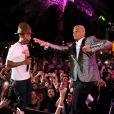 Pharrell Williams et T.I. à Miami Beach. Décembre 2013.