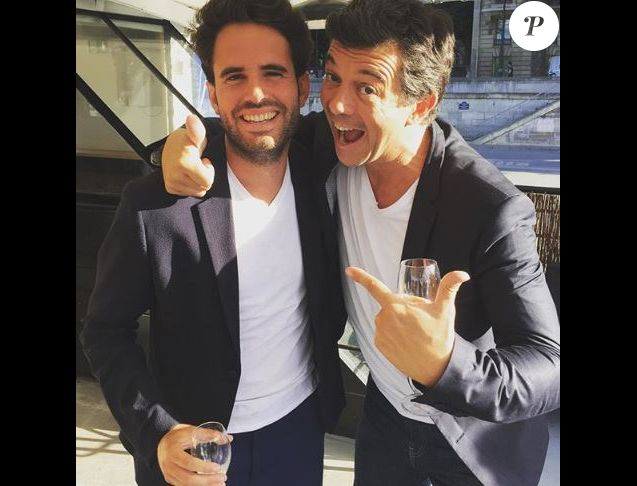 Antoine Blandin et Stéphane Plaza - Instagram, 31 juillet 2016