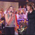 Leïla et Virginie Guilhaume étaient habillées par Jean-Paul Gaultier hier soir