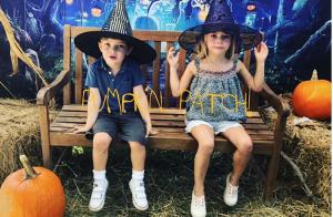 Princesse Madeleine: Pour Halloween, Leonore et Nicolas n'étaient pas en retard!