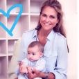 La princesse Madeleine de Suède avec sa fille la princesse Adrienne, photo Instagram 9 juillet 2018
