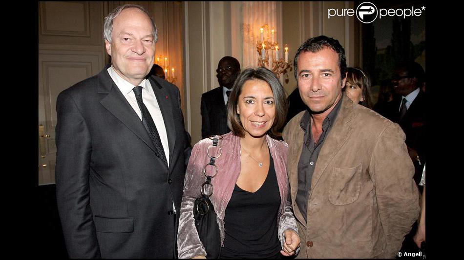 Michel boyon et son ami avec bernard montiel hier soir la soir e africa 24 - Bernard montiel et sa compagne ...