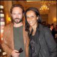 Vincent Perez et sa femme Karine