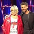 """Laurence Boccolini amincie surle tournage de """"Big Bounce Battle"""". Octobre 2018."""
