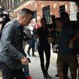 Alec Baldwin au commissariat à Manhattan, New York, le 2 novembre 2018 après avoir été interpellé suite à un affrontement avec un autre homme pour une place de stationnement.