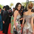 Asia Argento et Robin Wright montent les marches du Palais des festivals
