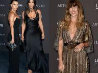 Lou Doillon : Scintillante en doré et radieuse face à Kourtney et Kim Kardashian